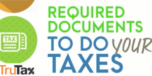Income tax required documents