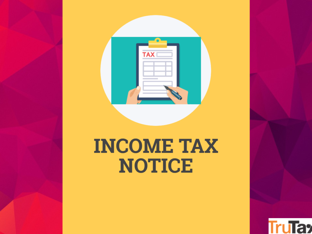 Income Tax Notice and sections