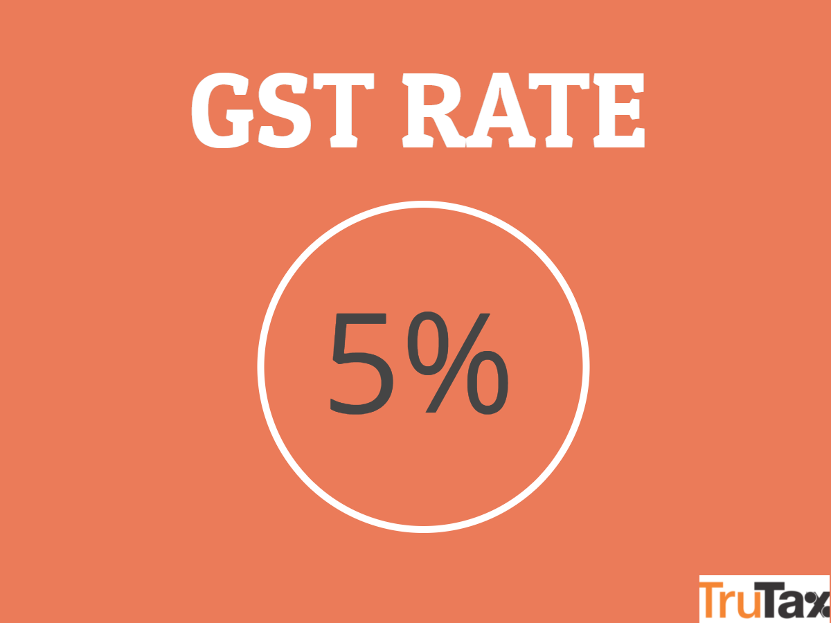 GST rate 5%
