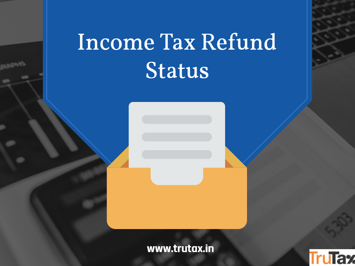 Check income tax filing status online